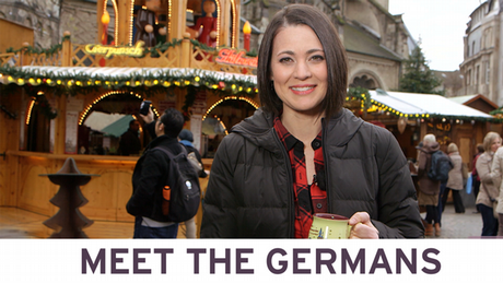 Meet the Germans with Kate - Christmas market (Copyright: DW)