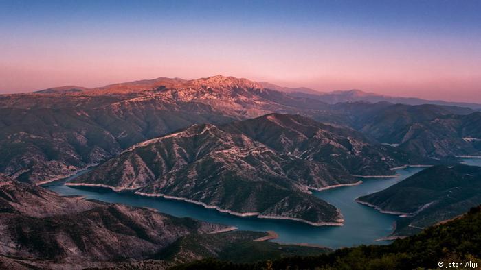 Fluß Treska bei Kozjak Mazedonien