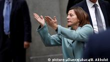 MADRID, SPAIN - NOVEMBER 02 : Catalan regional parliament speaker Carme Forcadell (R) gestures as she leaves the Supreme Court in Madrid, Spain on November 2, 2017 after appearing before a judge over her efforts to spearhead Catalonia's independence drive. Spain's Supreme Court said it had adjourned until November 9 the hearings of former members of Catalonia's dissolved parliament including speaker Carme Forcadell at the request of their lawyers. Accused by prosecutors of sedition and rebellion over the region's independence drive, which carry sentences of up to 15 and 30 years in jail respectively, the six had been summoned to court for questioning by a judge. Burak Akbulut / Anadolu Agency |