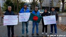 Deutschland Anti Rampal Protest in Bonn
