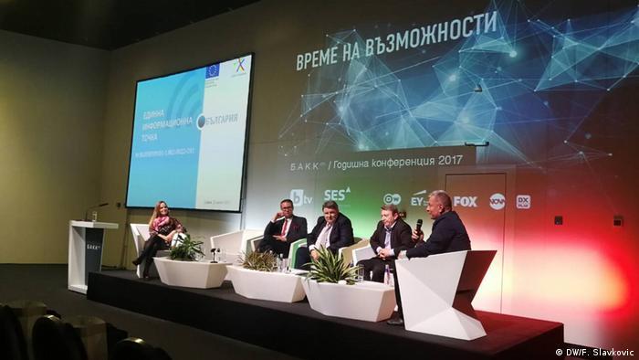 Bulgarien Sofia - Medienkonferenz BAKKO (DW/F. Slavkovic)