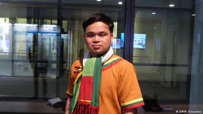 Bonn - Deutsche Welle Sai Htun Htun Nain (DW/M. Desautez)