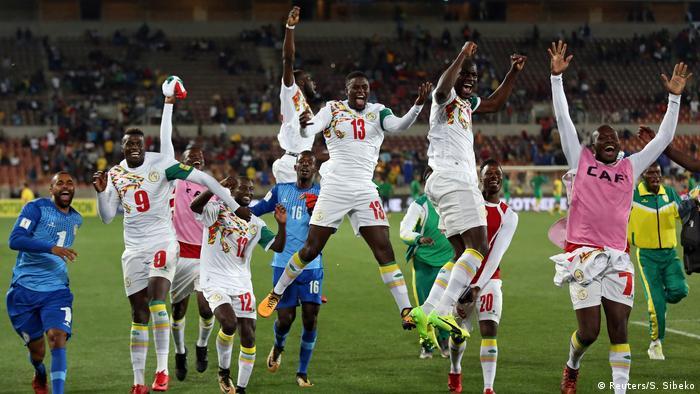 WM Russland 2018 Qualifikation - Senegal jubelt