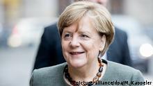 Berlin Fortsetzung der Sondierungsgespräche Angela Merkel