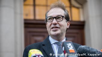 Berlin Fortsetzung der Sondierungsgespräche Alexander Dobrindt