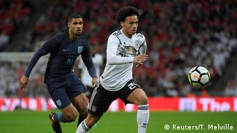 Leroy Sane Honored In England Now Germany Starting Berth