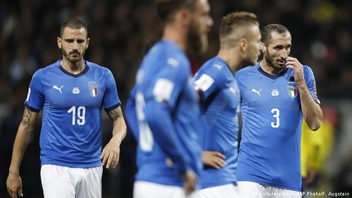 Fußball WM Playoffs Schweden - Italien