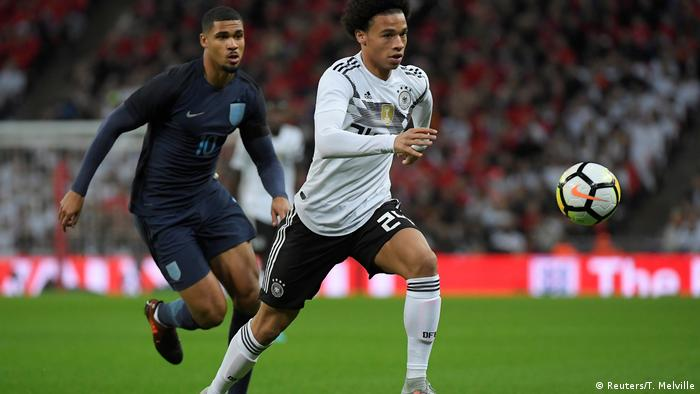 Leroy Sane is back in the Germany squad