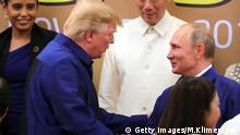 APEC Donald Trump und Wladimir Putin