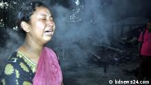 Bangladesch Feuer Zerstörung radikale Islamisten