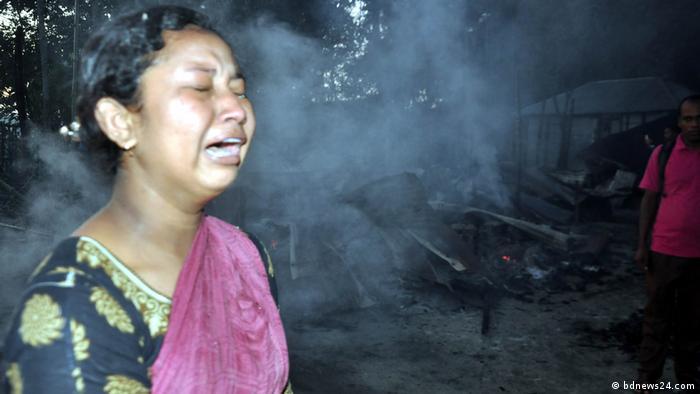 Bangladesch Feuer Zerstörung radikale Islamisten (bdnews24.com)