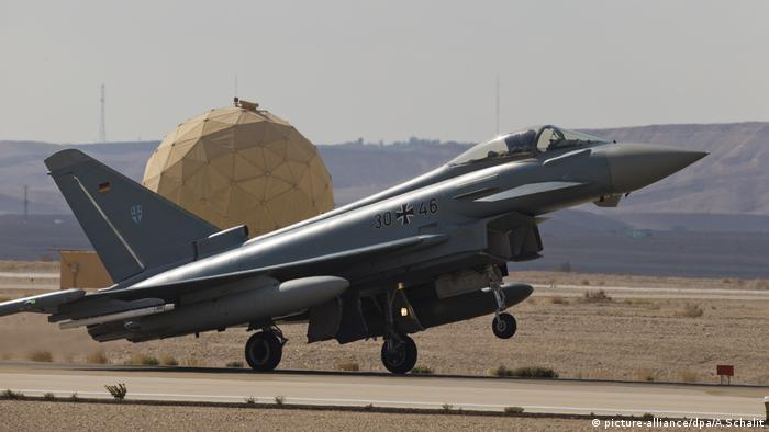 German Euro-Fighter jet