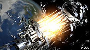 Upperstage explosion H1