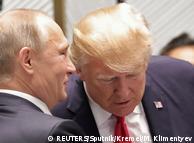 Владимир Путин и Дональд Трамп (ноябрь 2017 года)