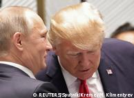 Владимир Путин и Дональд Трамп на саммите АТЭС во Вьетнаме (фото из архива, ноябрь 2017 года)