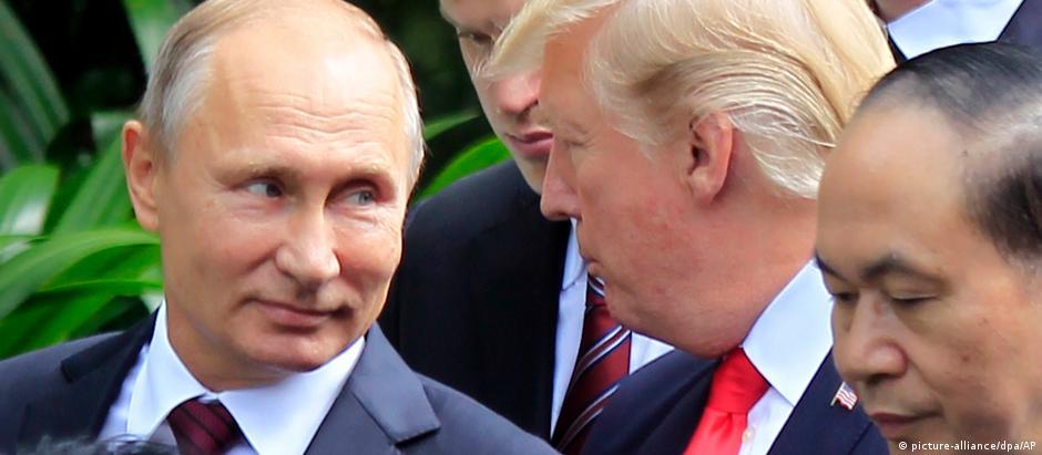 Putin tem todos os trunfos na mão. A Trump resta o ego