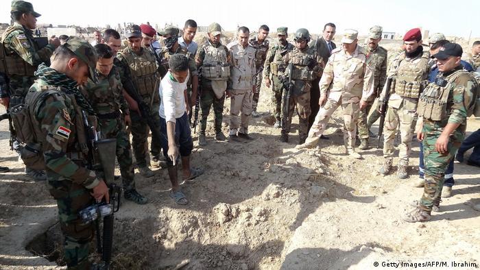 Irak Leichenfund in al-Hawidscha (Getty Images/AFP/M. Ibrahim)