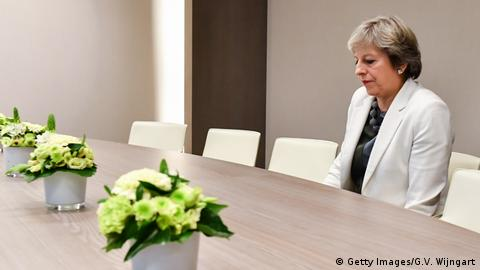 Theresa May (Getty Images/G.V. Wijngart)