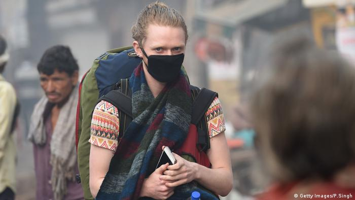 Indien Smog Umwelt (Getty Images/P.Singh)