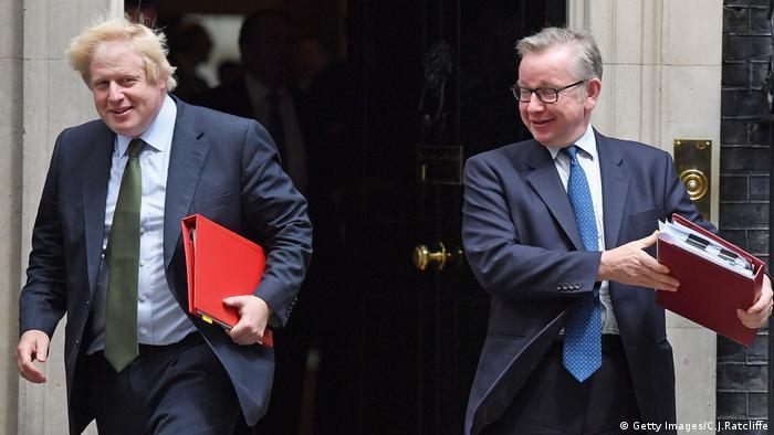 Boris Johnson Michael Gove London