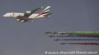 Dubai Air Show (picture alliance/AP Photo/K.Jebreili)