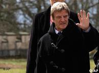 Le chef de la diplomatie française, Bernard Kouchner