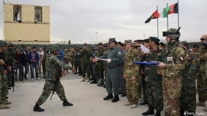 Afghanistan NATO-Training für afghanische Sonderkomandos