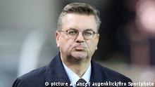 Fußball WM Play Offs | Deutschland vs. Aserbaidschan | DFB-Präsident Reinhard Grindel