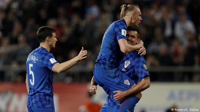 WM Quali Playoffs Griechenland gegen Kroatien (Reuters/C. Baltas)