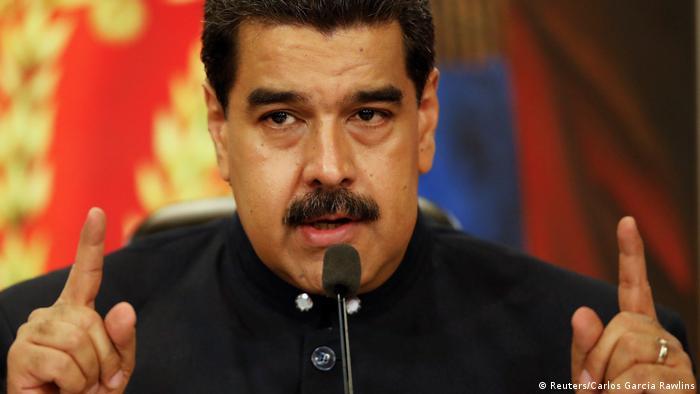 Venezuela | Präsident Maduro (Reuters/Carlos Garcia Rawlins)