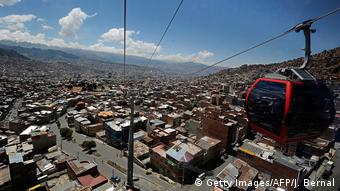 Bolivien Seilbahn in La Paz (Getty Images/AFP/J. Bernal)