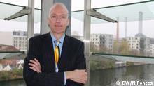 Titel: Guus Velders Was zu sehen ist: Wissenschaftler Guus Velders, aus der Niderlande Wo and wann: Berlin, November 2017 Copyright: Nádia Pontes