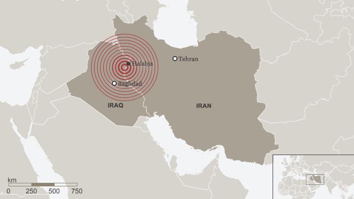 Karte Erdbeben Iran Irak ENG