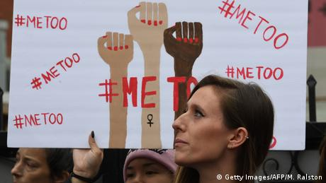 USA #MeToo Protestmarsch in Hollywood (Getty Images/AFP/M. Ralston)