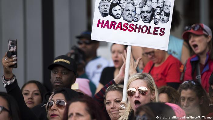 USA Los Angeles Demonstration Solidarität mit Opfern sexueller Gewalt
