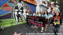 USA Los Angeles Demonstration Solidarität mit Opfern sexueller Gewalt (picture-alliance/NurPhoto/R. Tivony)