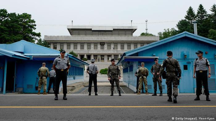 Südkorea Panmunjom DMZ Grenze zu Nordkorea (Getty Images/J. Heon-Kyun)