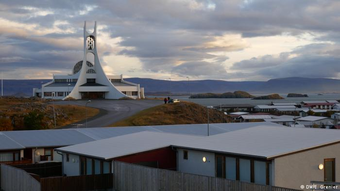 Landscape in Stykkisholmur, West Iceland (DW/E. Grenier)
