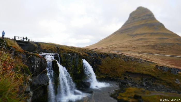 Kirkjufell Mountain in West Iceland (DW/E. Grenier)