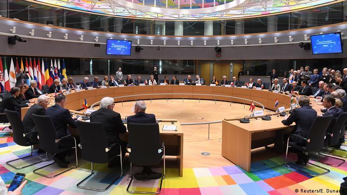 Belgien Treffen der EU Außen- und Verteidigungsminister