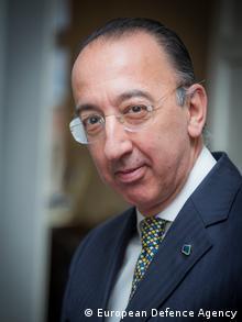 Belgien Jorge Domecq of the European Defense Agency