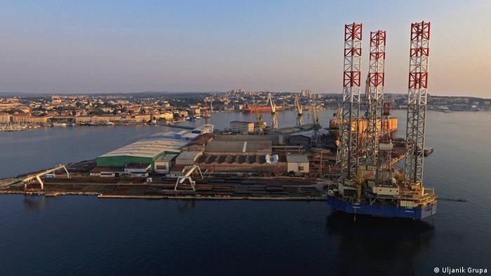 Kroatien Werft in Pula