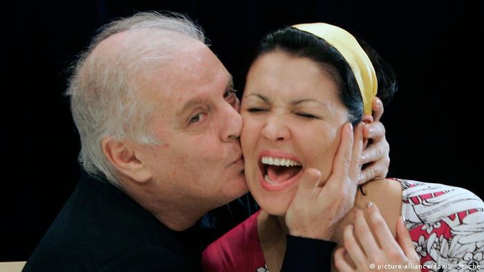 Анна Нетребко с Даниэлем Баренбоймом в Берлине, 2007 год