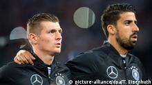 Hamburg Toni Kroos und Sami Khedira