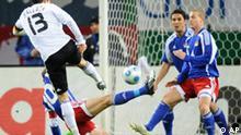 WM Qualifikation Deutschland Liechtenstein Ballack
