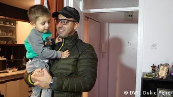 Srđan Ignjatović sa sinom