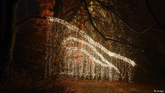 Рождественский сад (Christmas Garden) в Берлине