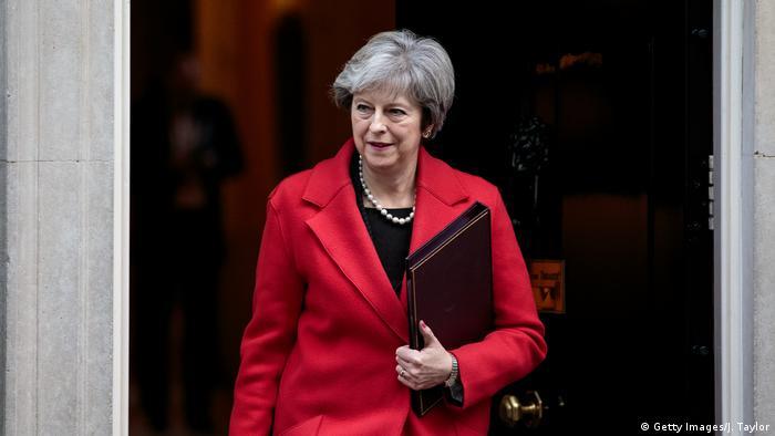 Großbritannien London Brexit Gespräche Theresa May (Getty Images/J. Taylor)