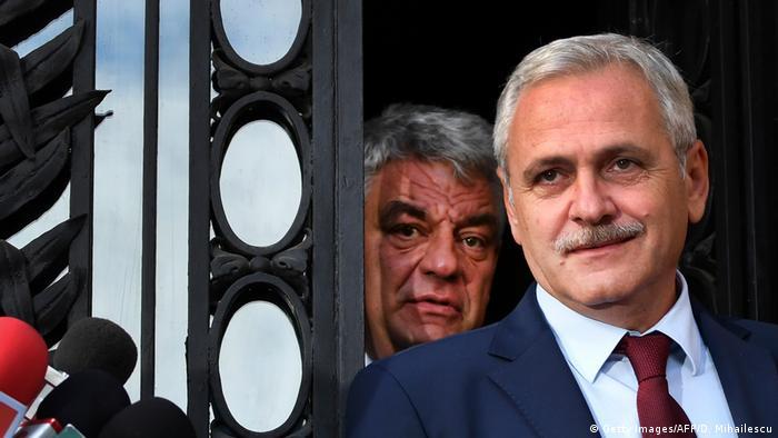 Rumänien Liviu Dragnea (Getty Images/AFP/D. Mihailescu)
