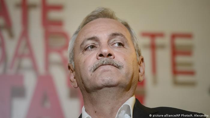 Liviu Dragnea (picture-alliance/AP Photo/A. Alexandru)